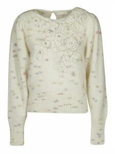 LoveShackFancy Moonrise Fitted Jumper