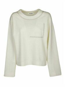 Jil Sander Stiching Details Sweatshirt