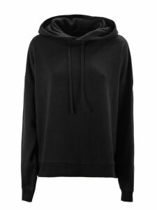 Maison Margiela Black Cotton Hoodie Sweatshirt