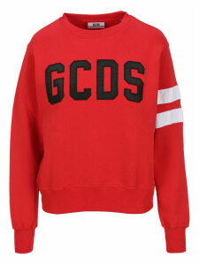 Gcds Embroidered Logo Patch Sweatshirt