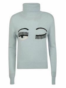 Chiara Ferragni T-neck Flirting Pullover
