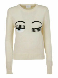 Chiara Ferragni R-neck Flirting Sweater
