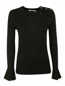 Tory Burch Bijoux Button Sweater