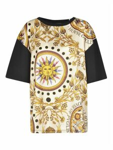 Fausto Puglisi Front Printed Oversized T-shirt