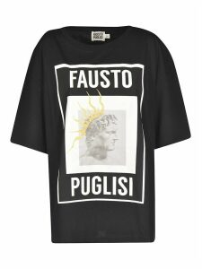 Fausto Puglisi Photo Print Oversized T-shirt