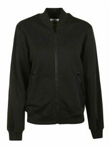 Moschino Logo Embellished Zip Jacket