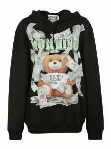 Moschino Bear Print Hoodie