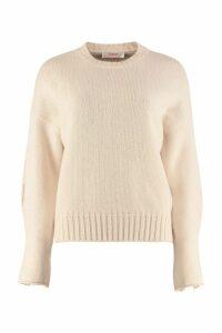 Jucca Crew-neck Virgin Wool Sweater