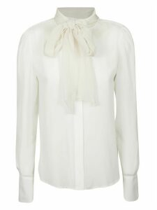See by Chloé Bow-tied Scarf Shirt