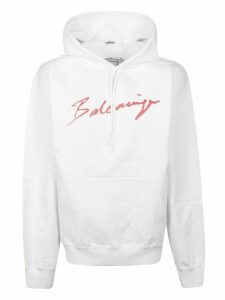 Balenciaga Logo Signature Hoodie
