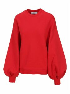 Msgm Puffed Sleeves Sweatshirt