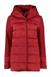 Herno Hooded Short Down Jacket