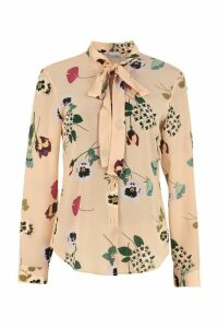 RED Valentino Printed Silk Shirt