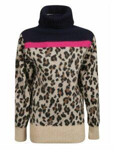 Sacai Leopard Pullover