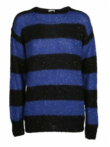 Miu Miu Striped Knit Sweater