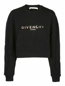 Givenchy Crop Sweatshirt