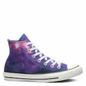 Converse Women's Chuck Taylor All Star Miss Galaxy Hi-Top Trainers - Hyper Royal/Mod Pink/White - UK 8 - Purple