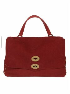 Red Suede Bag,