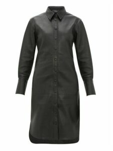 Joseph - Brann Leather Shirtdress - Womens - Black