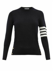 Thom Browne - Milano 4 Bar Wool Sweater - Womens - Navy