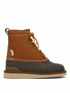 Suicoke - Alal-wpab Waterproof Leather Boots - Womens - Black Tan