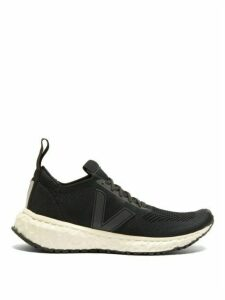 Rick Owens - X Veja Knitted Trainers - Womens - Black