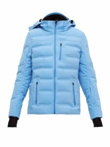 Aztech Mountain - Nuke Quilted-down Technical Ski Jacket - Womens - Light Blue
