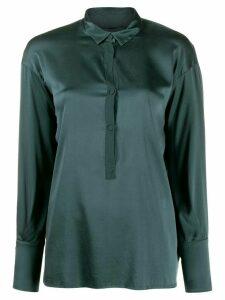 Kristensen Du Nord buttoned blouse - Green