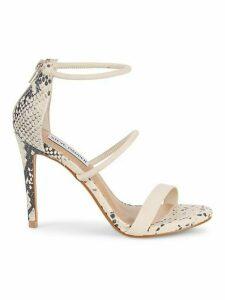 Klu Snake-Print Sandals