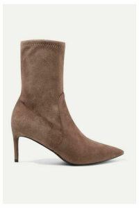 Stuart Weitzman - Wren Suede Ankle Boots - Sand