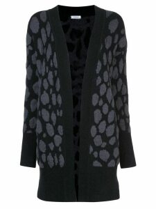 Akris Punto dotted open cardigan - Black