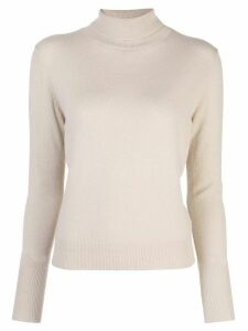 Nili Lotan roll neck jumper - NEUTRALS