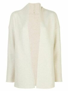 Peter Cohen open front cardigan - NEUTRALS