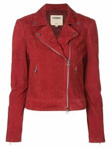L'Agence Ryder Moto jacket - Red