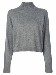 Le Kasha Vail turtleneck cashmere sweater - Grey