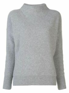 Vince cashmere mock-neck jumper - Grey