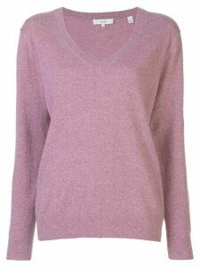Vince cashmere V-neck pullover - PINK