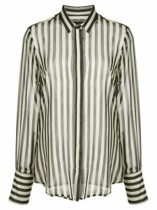Nili Lotan striped shirt - Black