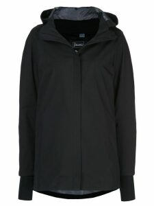 Herno hooded raincoat - Black