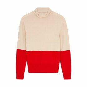 BOSS Fosalie Two-tone Cashmere Jumper