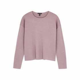 EILEEN FISHER Mauve Wool Jumper