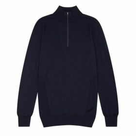 Shackleton Marston Merino Quarter Zip Sweater