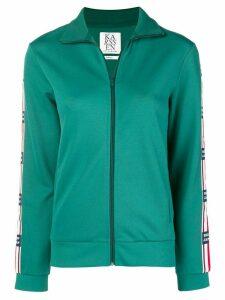 Zoe Karssen zip front sports jacket - Green