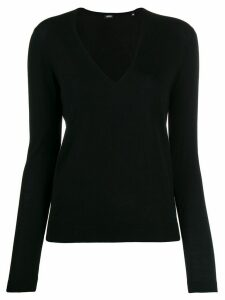 Aspesi V neck jumper - Black