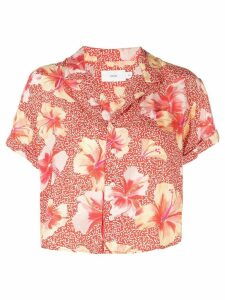 Onia floral print shirt - Red
