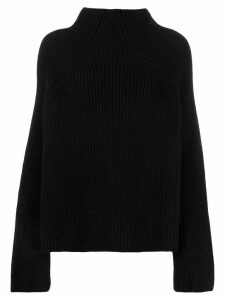 Laneus turtleneck relaxed-fit jumper - Black
