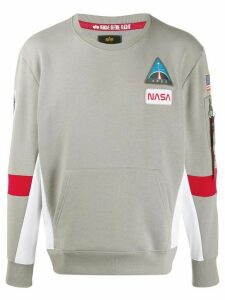 Alpha Industries Space Camp sweatshirt - Grey