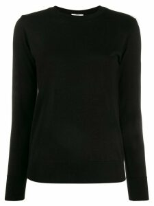 Lardini long sleeve knit jumper - Black