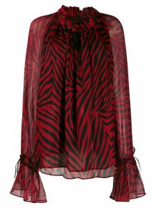 Redemption zebra-print blouse