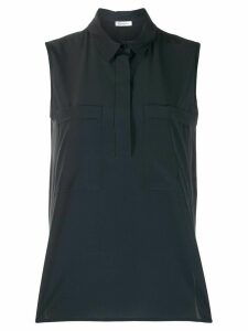 Peserico sleeveless blouse - Blue